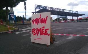 La station Paridis à Nantes fermée dimanche matin