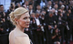 Cate Blanchett le 17 mai 2015