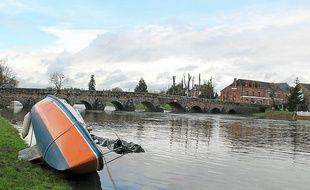 La concentration en nitrates dans les rivières comme la Vilaine s'améliore. Ici à Pont-Réan.