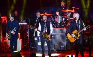 Paul McCarney en concert à New York le 14 février 2015.