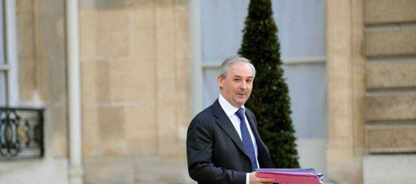 François Pérol, le 5 mars 2010 sur le perron de l'Elysée.