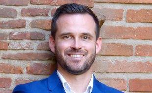 Quentin Lamotte, 32 ans, est le candidat du RN dans la course au Capitole de Toulouse.