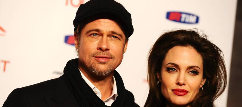 Les ex-époux Brad Pitt et Angelina Jolie