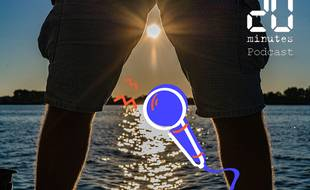 Illustration d'une personne en bermuda au soleil