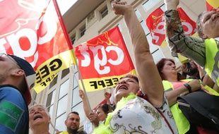 Une centaine de «gilets jaunes» a rejoint la manifestation de soutien aux salariés de General Electric à Belfort, menacés par un plan social.