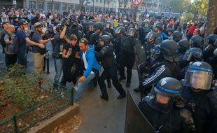 186 personnes au total ont été interpellées au cours de la journée, marquée par des violences et des dégradations