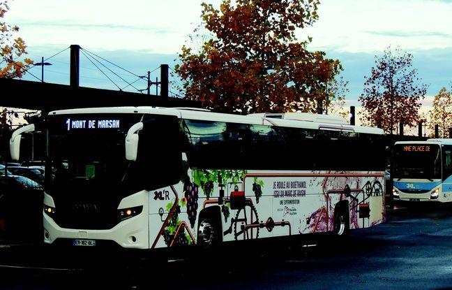 Un autocar va rouler au marc de raisin sur la ligne entre Dax et Mont-de-Marsan.