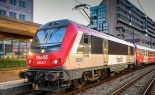 Des trains Thello italiens circulent sur cette ligne (illustration).