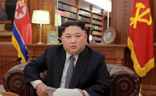 Kim Jong-un, le 1er janvier 2019.