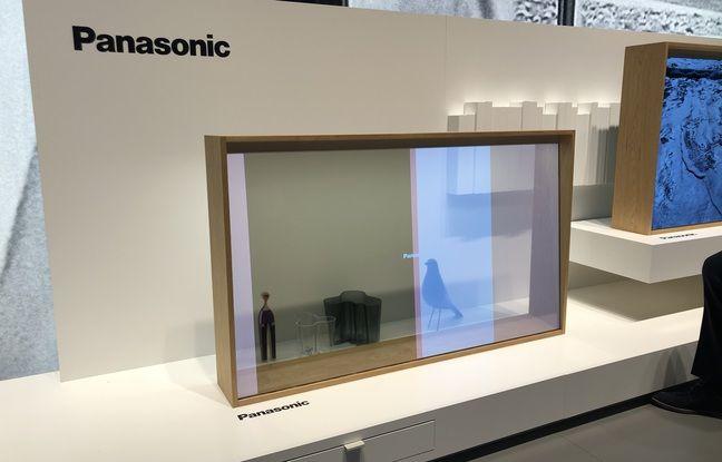 Panasonic ha presentato un prototipo di televisione trasparente alla fiera IFA di Berlino nel 2019.