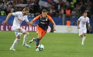 MHSC / NO : Arnaud Souquet a marqué l'unique but de la rencontre.