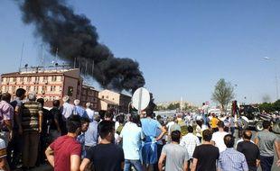 Le PKK a revendiqué une attaque visant le siège de la police à Elazig, dans l'est de la Turquie