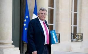 Le secrétaire d'Etat au Budget Christian Eckert, le 1er octobre 2014 à Paris