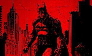 Un artwork e l'artiste Jim Lee pour le futur film «The Batman» avec Robert Pattinson