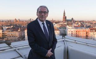 Roland Ries, maire de Strasbourg, le 16 janvier 2020.