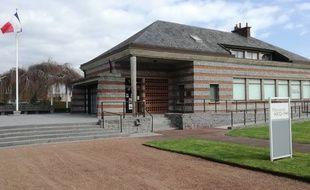Le Mémorial Ascq 1944, à Villeneuve d'Ascq, dans le Nord, où 86 civils furent exécutés par des Waffen-SS en avril 1944.
