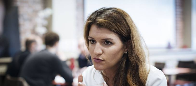 Marlène Schiappa, le 20 octobre 2018 à Issy-les-Moulineaux.