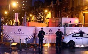 Le 14 novembre dernier, les policiers belges ont participé à la traque des suspects à Molenbeek.