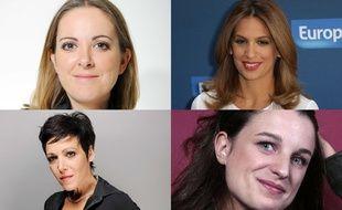 Charline Vanhoenacker, Sonia Mabrouk, Eugénie Bastié et Marcela Iacub (montage)