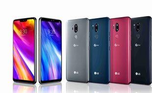 Le LG G7 ThinQ lancé en France à 849 euros.