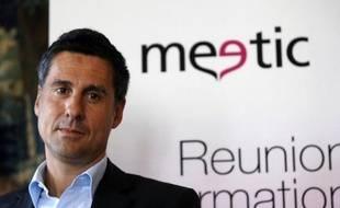 """Marc Simoncini, le fondateur du numéro un européen des sites de rencontres Meetic, a indiqué mardi espérer """"trouver un acquéreur d'ici la fin de l'année"""" pour lui céder les 22,98% du capital qu'il détient."""