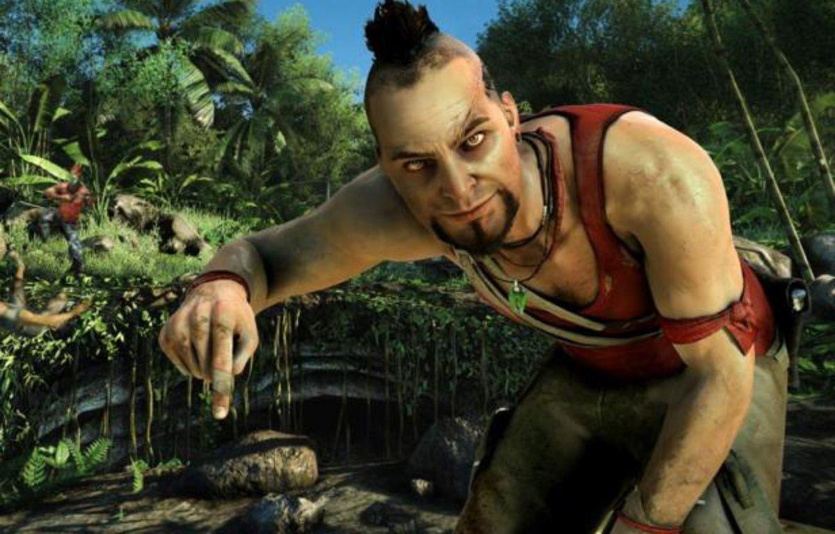 """Vaas, le chef des pirates dans le jeu vidéo """"Far Cry 3"""". – Ubisoft"""