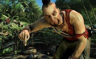 """Vaas, le chef des pirates dans le jeu vidéo """"Far Cry 3""""."""