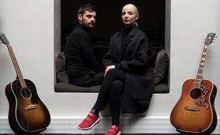 Jean-Karl Lucas et Emilie Satt, alias Madame Monsieur, à Paris, en avril 2018.