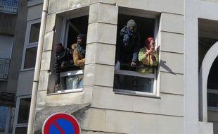 La maison de retraite de la rue Maurice-Sibille est occupée par des migrants