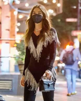 Lily Aldridge, le 8 septembre, à New York.