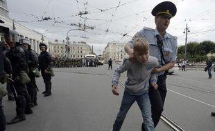 Saint-Petersbourg était l'un des principaux foyers de la contestation.
