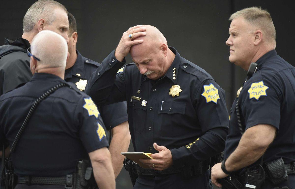Trois personnes ont été tuées à Fresno, en Californie, le 18 avril 2017. –  John Walker/AP/SIPA