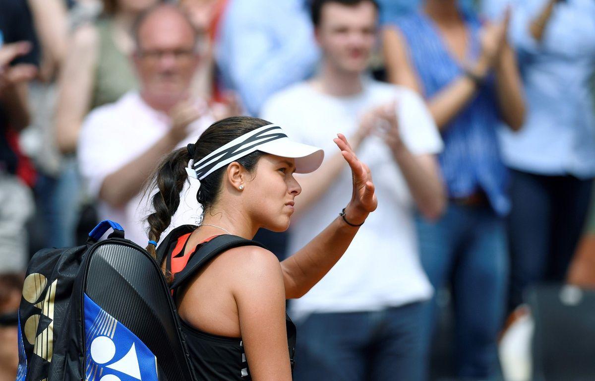 L'ex-numéro 1 mondiale serbe Ana Ivanovic, le 28 mai 2016 à Roland-Garros. – AFP