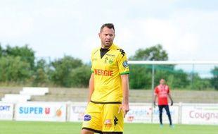 L'ancien joueur Olivier Quint.