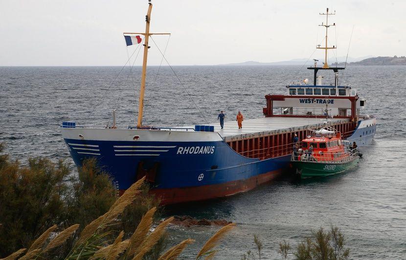 Corse : Le commandant du cargo échoué et le responsable de la navigation convoquée devant le tribunal