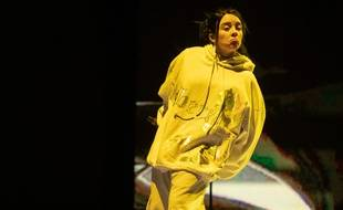 La chanteuse Billie Eilish à Coachella en 2019