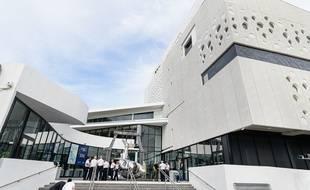 Le Musée Mer Marine à Bordeaux.