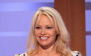 Pamela Anderson à Londres.