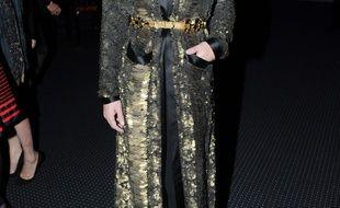 Conchita Wurst au gala annuel du Sidaction le 29 janvier 2015