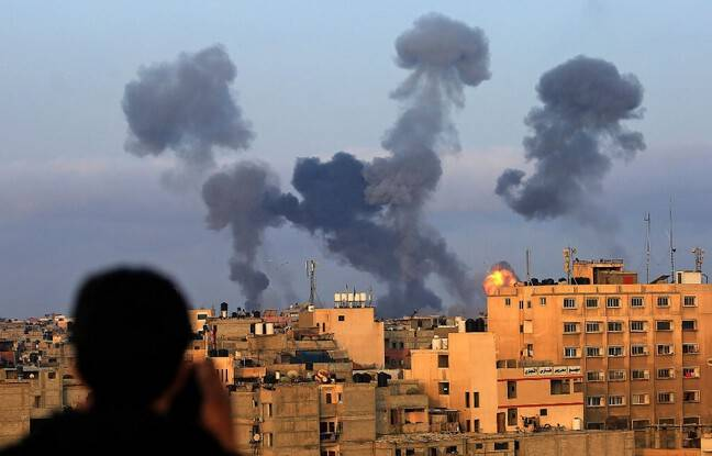 648x415 tirs israeliens visant bande gaza 11 mai 2021