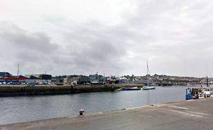 Le port de Concarneau, dans le Finistère.