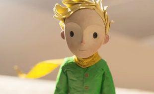 Capture d'écran de la bande annonce du film Le Petit Prince