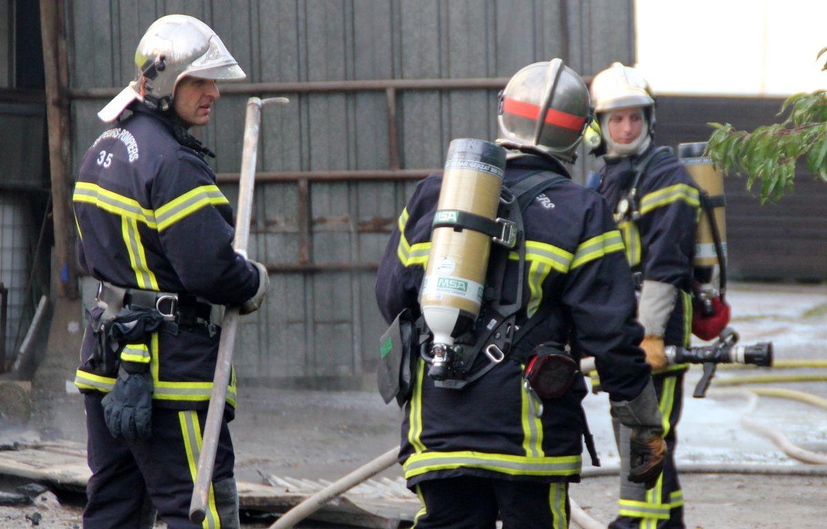 Illustration d'une intervention des pompiers d'Ille-et-Vilaine, ici à Chantepie, près de Rennes, en 2012. – C. Allain / APEI / 20 Minutes