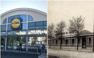 Le supermarché Lidl du boulevard Jules-Verne s'est installé dans une ancienne usine de chocolat