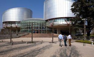 Illustration du siège de la Cour européenne des droits de l'Homme (CEDH) à Strasbourg.