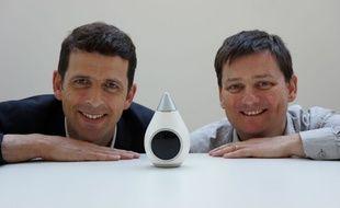Jean Laurent Schaud, PDG de Ween, et Nathanael Munier, co fondateur, partis au CES de Las Vegas pour séduire de nouveaux investisseurs.