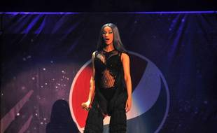 La chanteuse Cardi B au Pepsi B96 Chicago Jingle Bash 2018