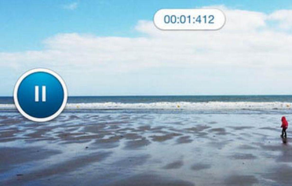 Dailymotion lance Camera, jeudi 25juillet 2013. – Appstore