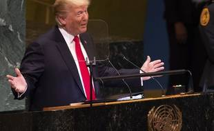 Donald Trump s'exprimait pour la deuxième fois devant l'assemblée générale des Nations Unies.