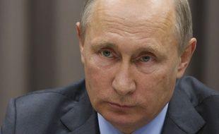 Le président russe Vladimir Poutine accuse la France d'avoir cherché à